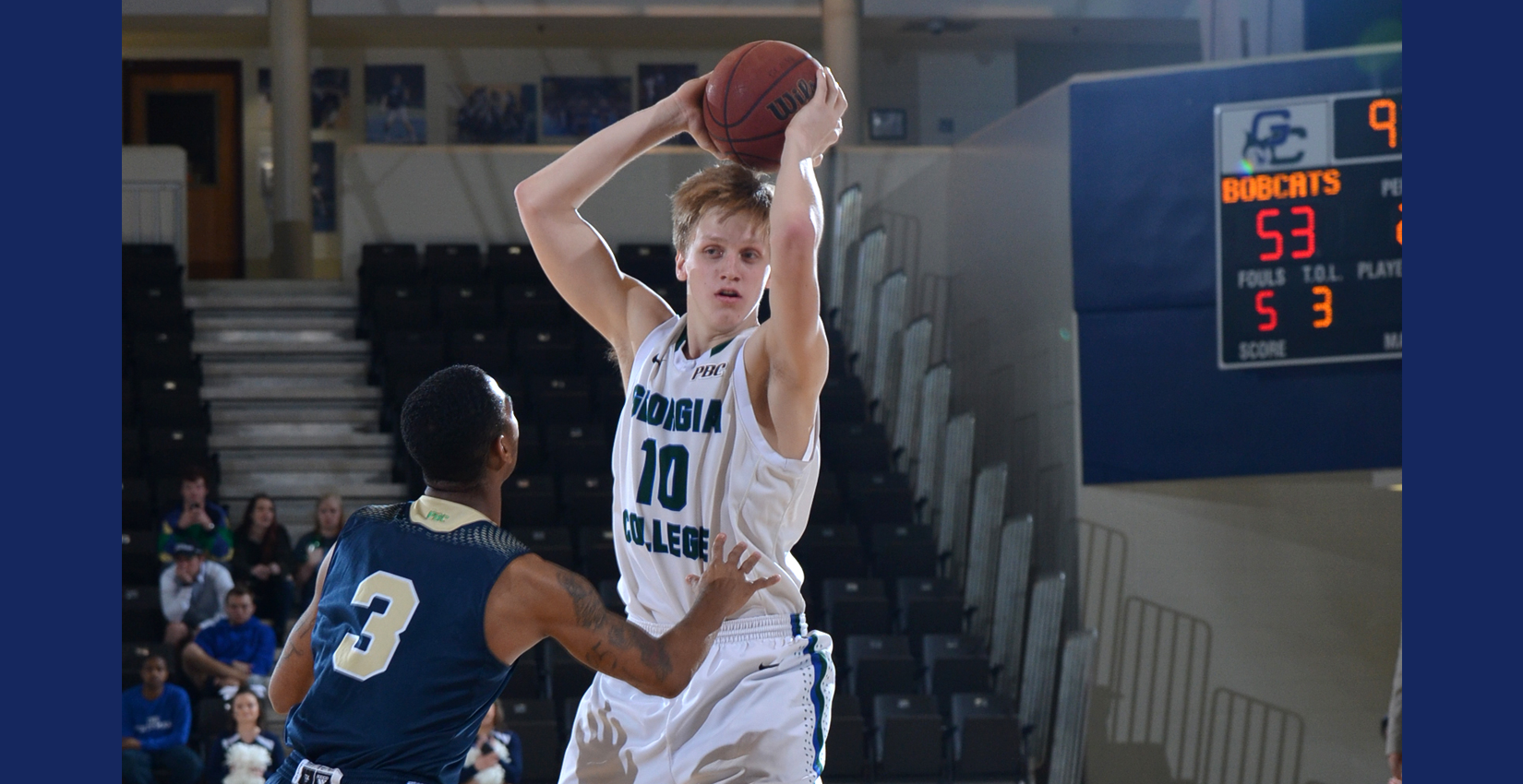 GC Men's Hoops Falls in a Heartbreaker to North Georgia on the Road, 64-60