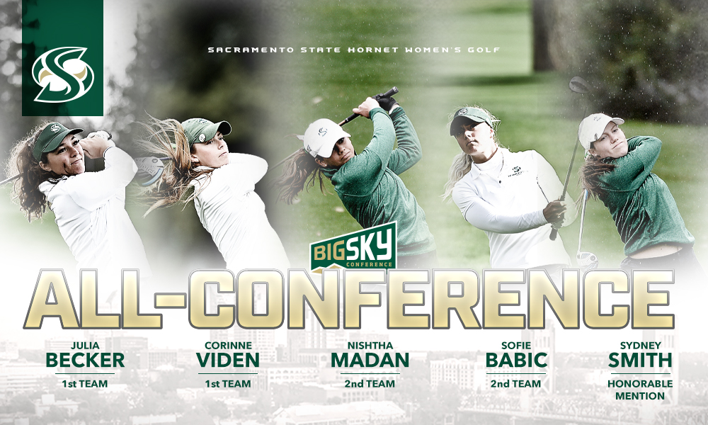 WOMEN'S GOLF PLACES FIVE ON ALL-BIG SKY CONFERENCE TEAMS