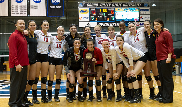 Ferris State Volleyball Claims Midwest Regional Title To Reach NCAA Elite Eight!