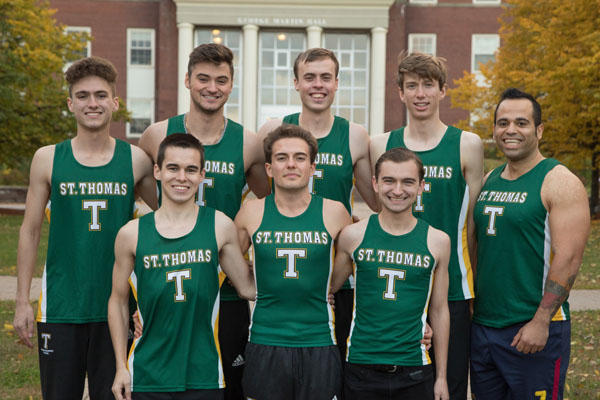Men's Track on Pace to Better Results