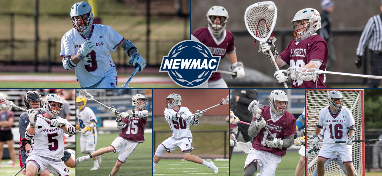 Dooley and Reynolds Highlight NEWMAC Men's Lacrosse Yearly Honors; Seven Earn All-Conference Accolades