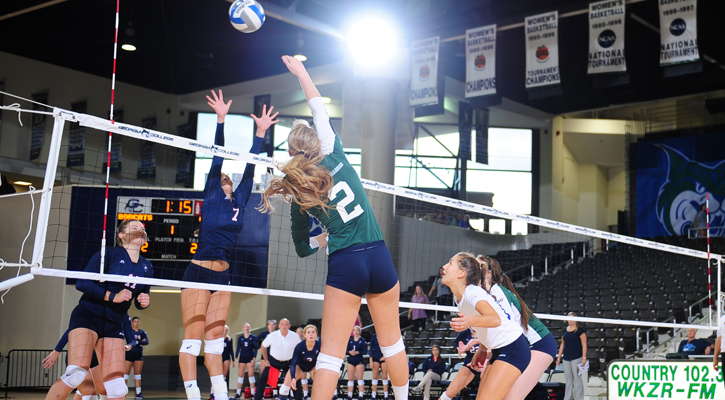 GC Volleyball Nabs First Conference Win over Columbus State in Four