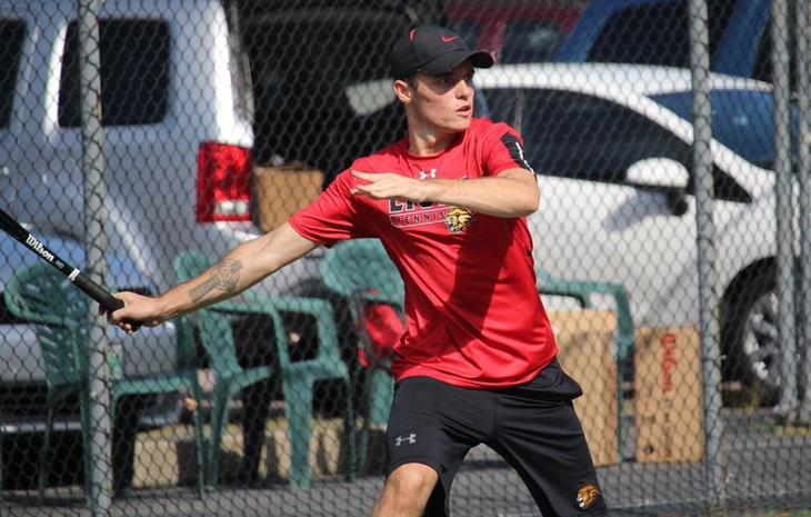 Men's Tennis Swept by NAIA Side Missouri Valley