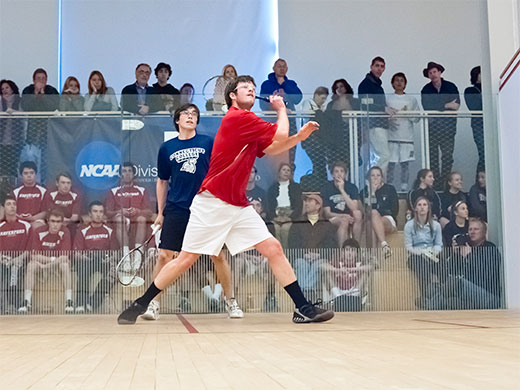 Men's squash finishes in 32nd at national CSA tournament