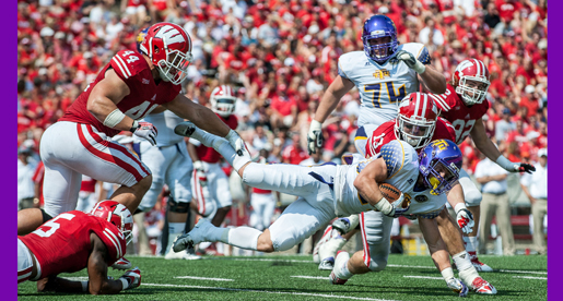 No. 21 Wisconsin powers past Golden Eagles, 48-0