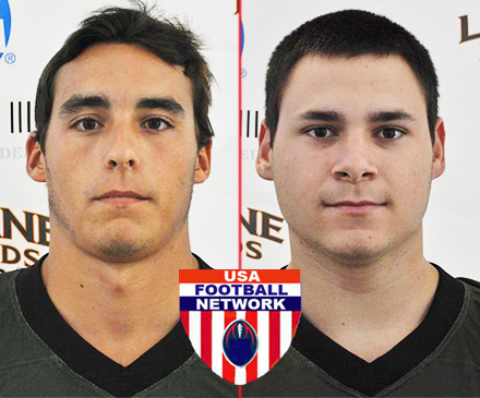 Lozon, Gutierrez Named USA College Football Preseason All-Americans