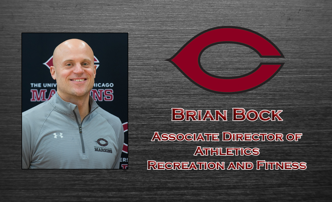 Brian Bock Named Associate Director of Athletics for Recreation & Fitness