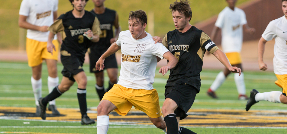 Geither had a goal and an assist in BW's 4-0 win against Olivet (Mich.)