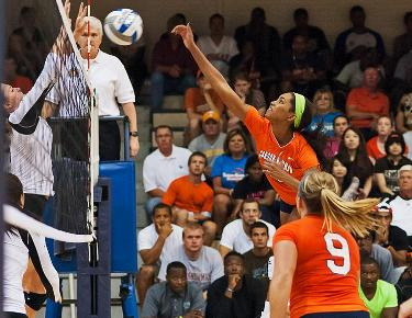 Home again: Volleyball returns to Holt Fieldhouse to face Catawba and Queens
