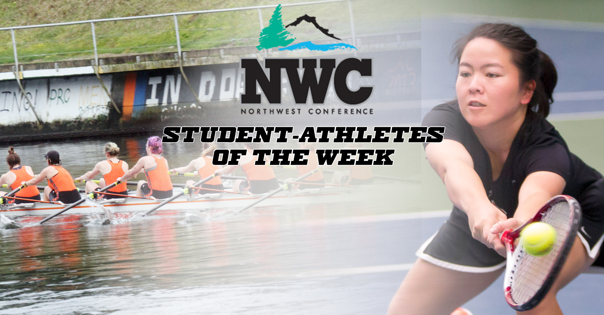 Women's tennis, women's rowing collect NWC honors
