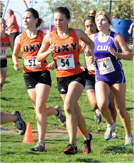 Women's Cross Country Clinches SCIAC Championship