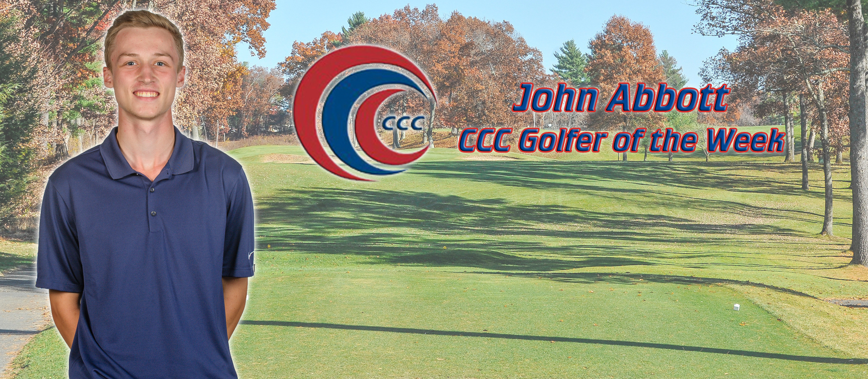 John Abbott Recognized as CCC Golfer of the Week