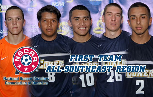 Five Cobras Earn NSCAA First Team All-Southeast Region Honors