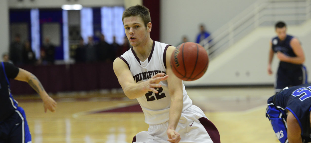 Men's Basketball Hangs On For 64-62 Win Over Westfield State