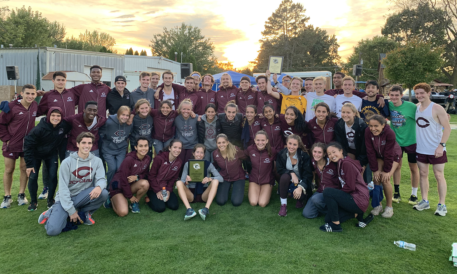 UChicago Cross Country Squads Sweep Field in Dominating Races at Brissman Lundeen