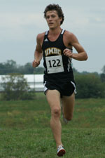 Brandan McGee led UMBC for the second straight race