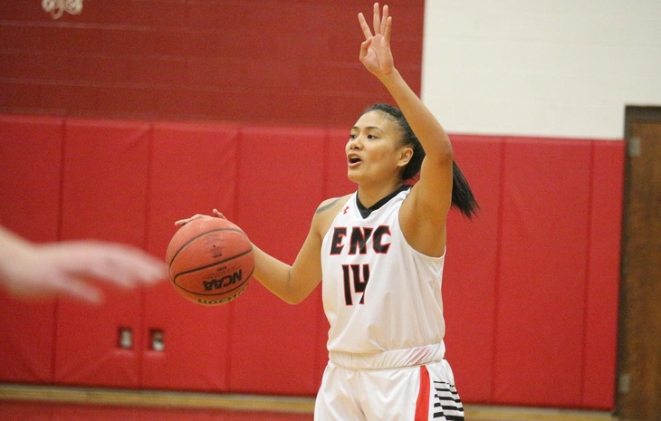 Women's Basketball Knocks Off League-Leading Mitchell, 85-69