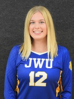 NEWVA Rookie of the Year Hannah Dolan from Johnson & Wales (R.I.)