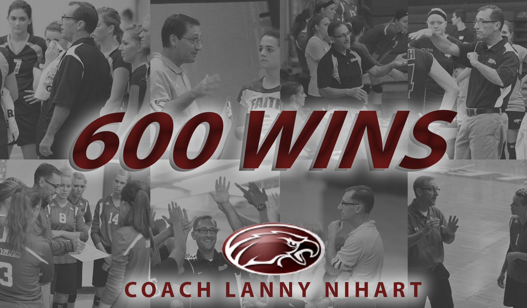 Coach Nihart Earns 600 Wins