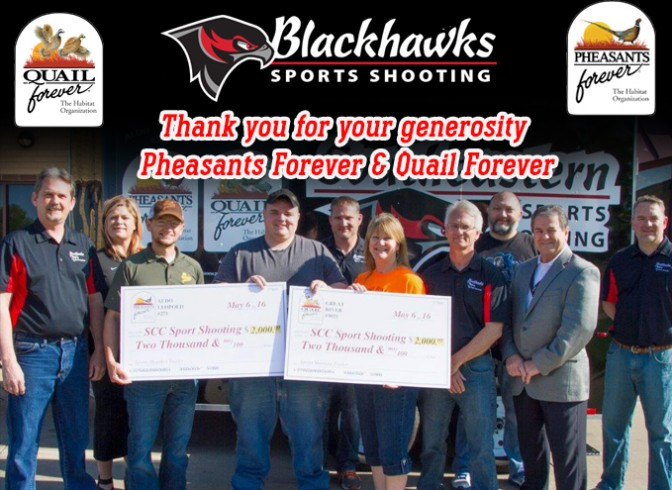 Photo for SCC Sports Shooting Receives Gifts from Pheasants Forever, Quail Forever