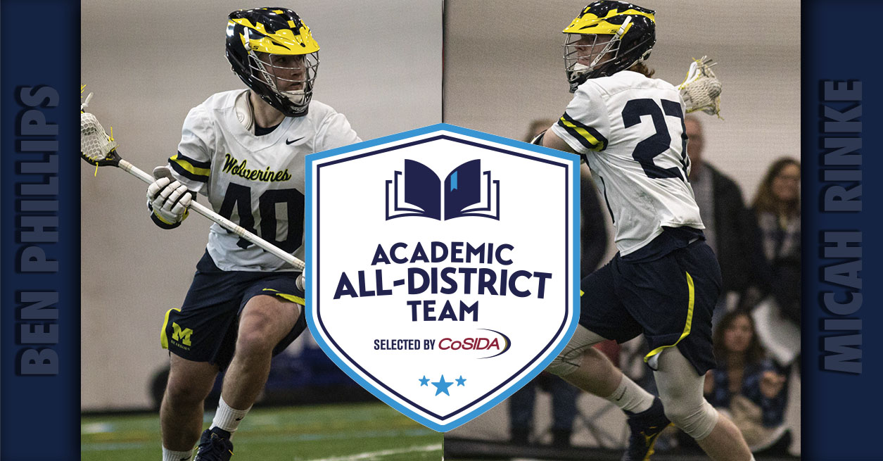 Two Wolverines named to CoSIDA All-District Team