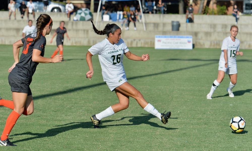 WOMEN'S SOCCER FENDS OFF LATE NEVADA ATTACK IN 3-2 WIN AT HOME