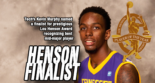 Murphy named finalist for prestigious Lou Henson Award