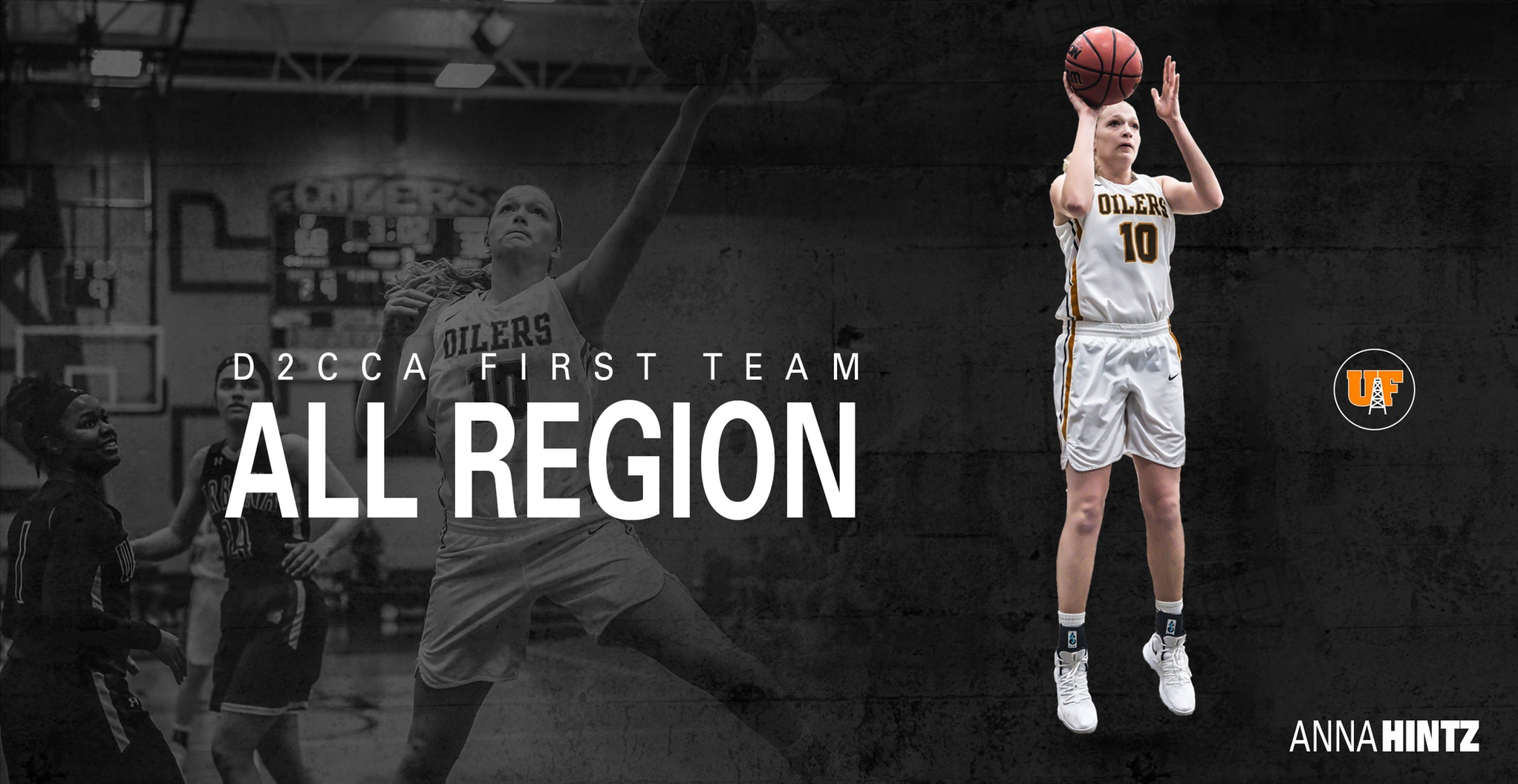 Hintz Named First Team All-Region by D2CCA