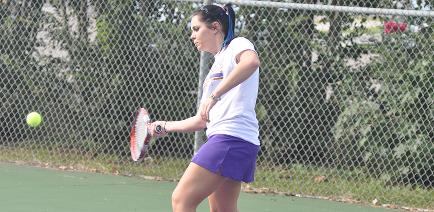 Westminster College Women's Tennis Team Nets Win Over Lady Eagles