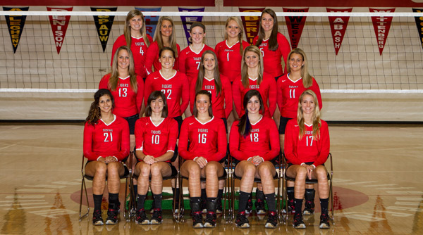 2012 Wittenberg Volleyball