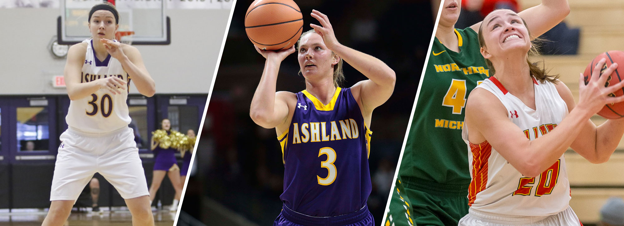 Ashland's Daugherty & Snyder, Ferris State's McInerney Earn CoSIDA Academic All-America Honors