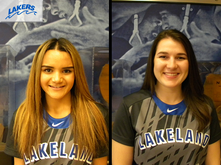 Lakers drops pair to Mercyhurst NE