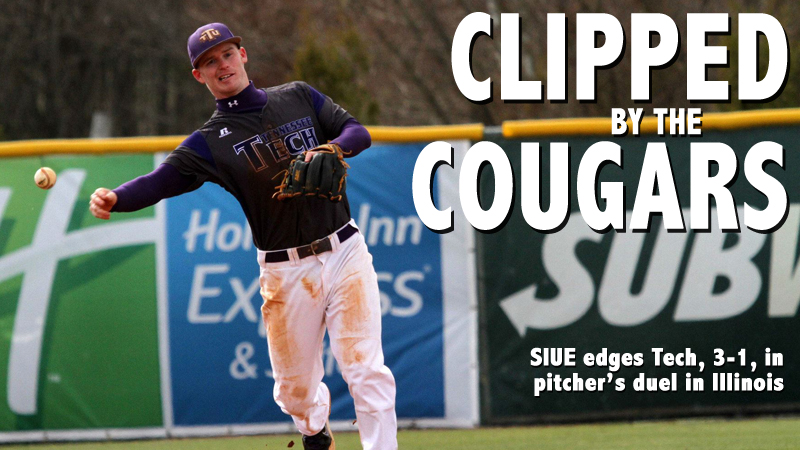 Golden Eagles fall at SIUE in 3-1 pitcher's duel