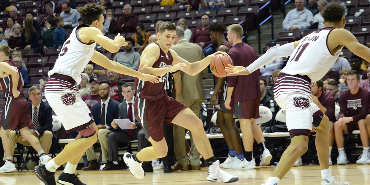 Evangel Men Host Central Methodist in Heart Action Tuesday Night