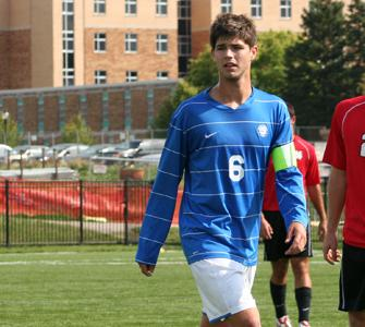 Pope and Sytsma earn All Central Region men's soccer honors