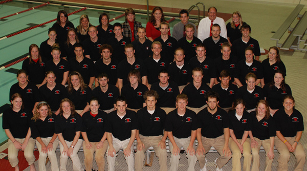 2007-08 Wittenberg Men's Swimming and Diving