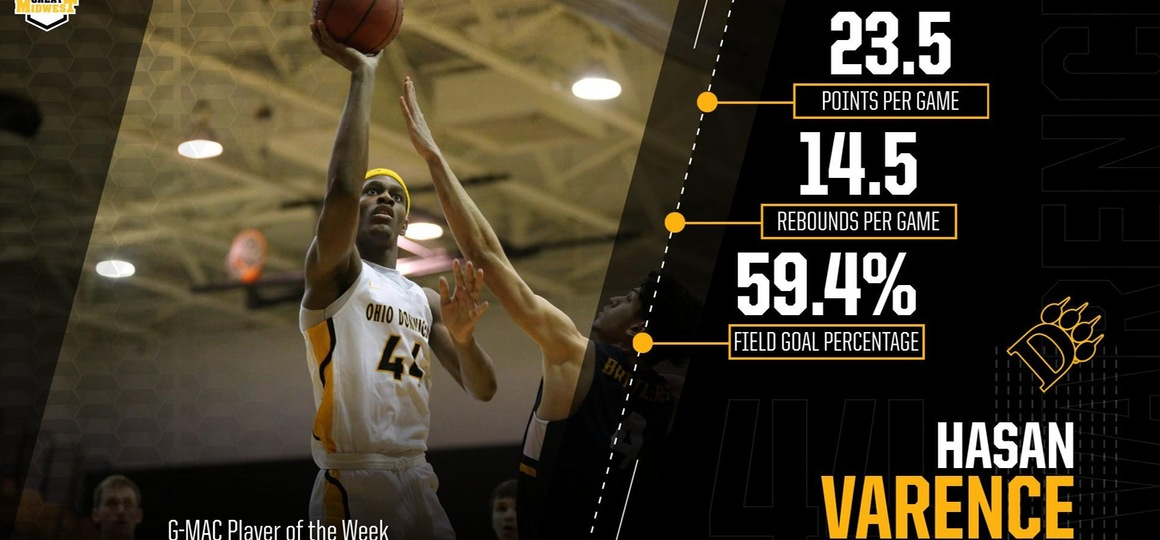 Varence Earns G-MAC Player of the Week Honor For Second Time This Season