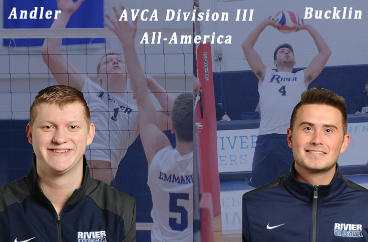 Men's Volleyball: Andler, Bucklin earn AVCA All-America honors
