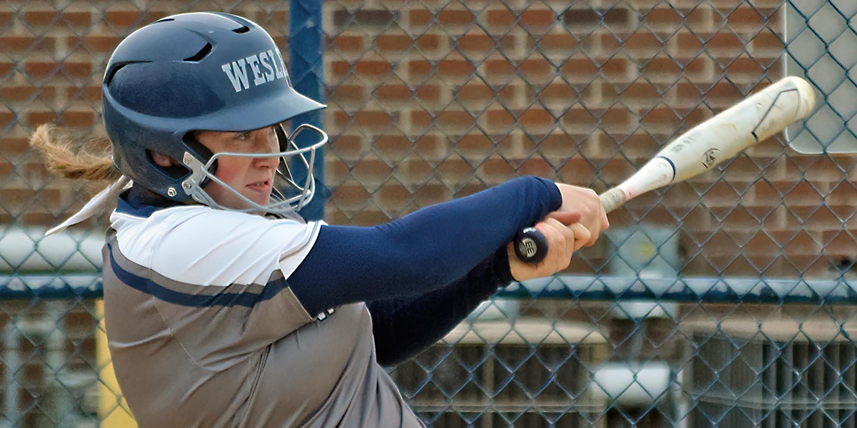 First collegiate homers power fifth-seeded softball to pod finals of Atlantic East Tourney