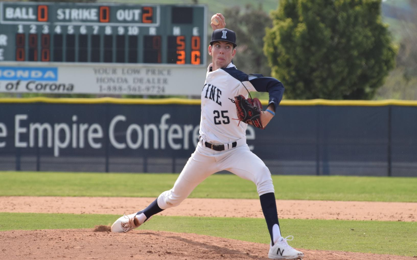 Baseball team drops tight one in conference opening game