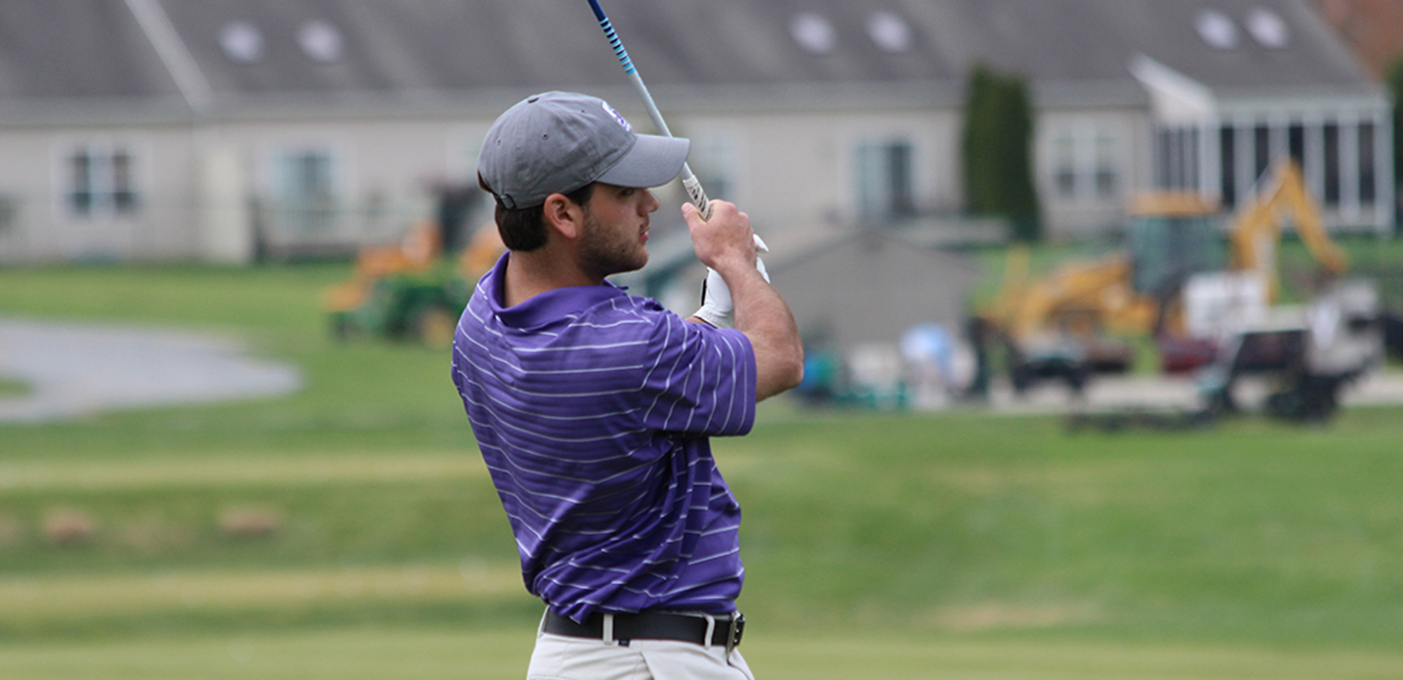 Senior Steven Lambrinakos shot a career-low 75 on Thursday, April 20, to lead the Royals past King's and Wilkes.