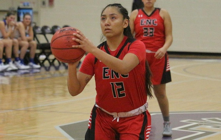 Women's Basketball Prevails 64-50 at Pine Manor