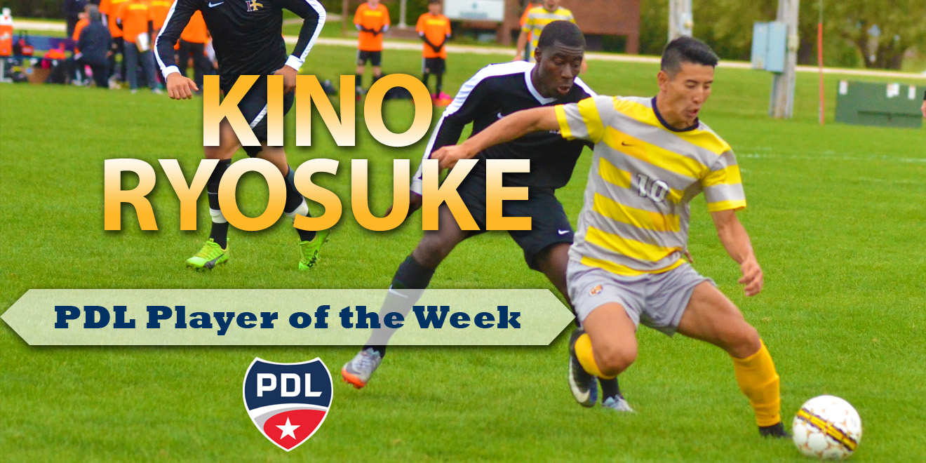 Former Tiger Earns Player of the Week Honors in PDL