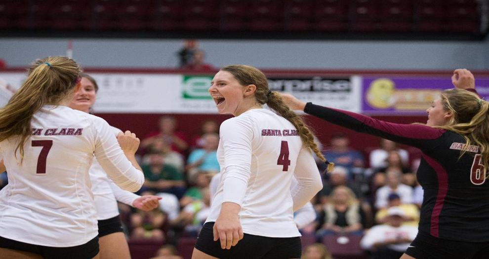 Volleyball Travels To West Coast Conference Leaders No. 24 BYU, No. 12 San Diego