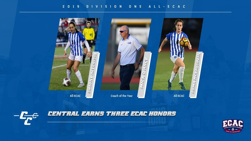Alterisio, D'Arcy and McLaughlin Honored by ECAC