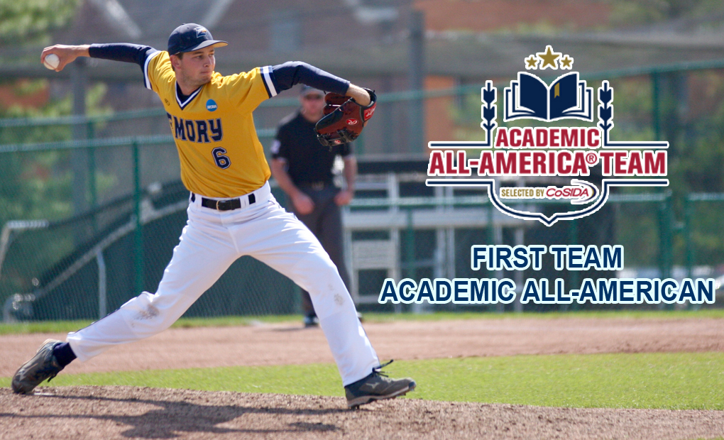 Kyle Monk Selected to CoSIDA Academic All-America First Team