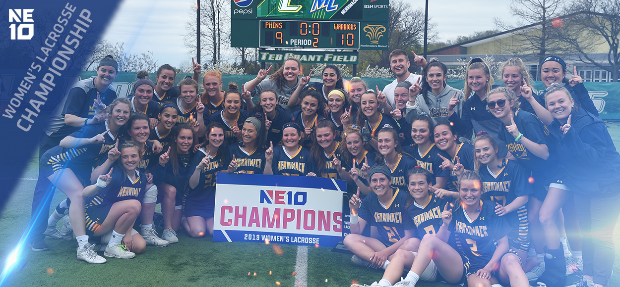 Embrace the Championship: Merrimack Stuns Undefeated Le Moyne for NE10 Women's Lacrosse Title