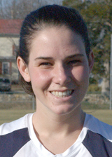 Mary Washington Women's Lacrosse Standout Kate Tarr Named 2009 CAC Unsung Hero Award Winner