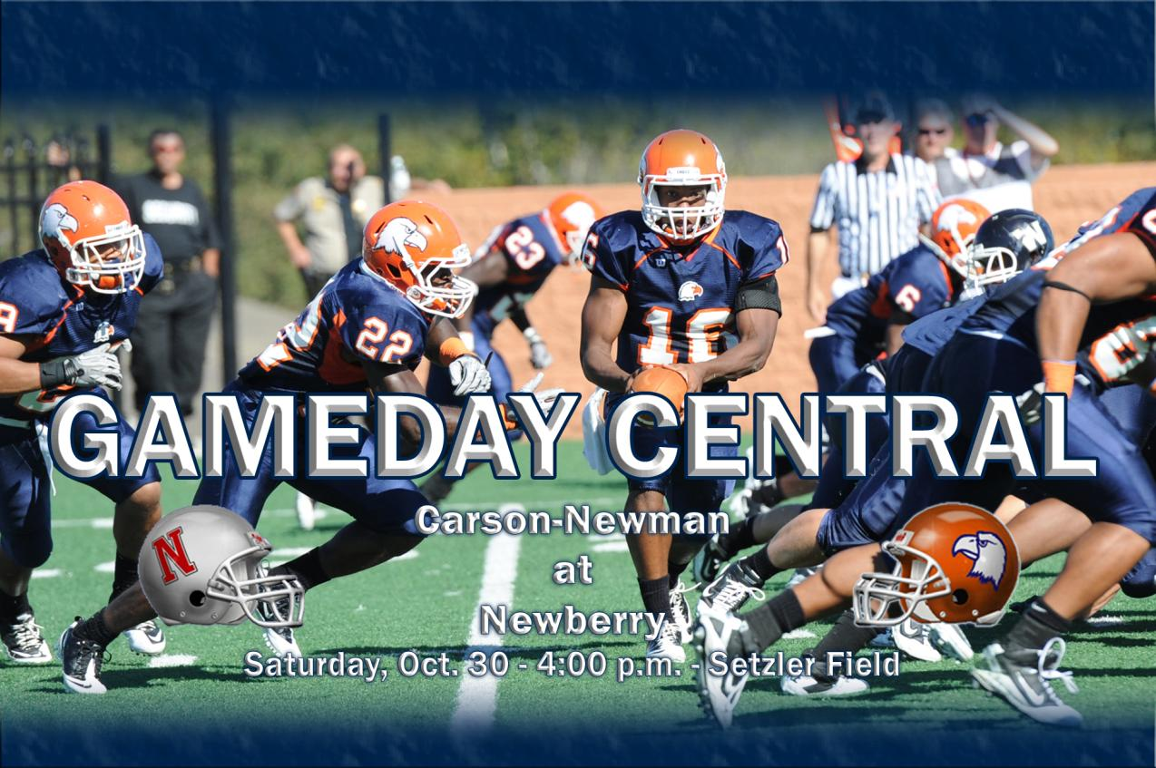 Gameday Central: Carson-Newman at Newberry