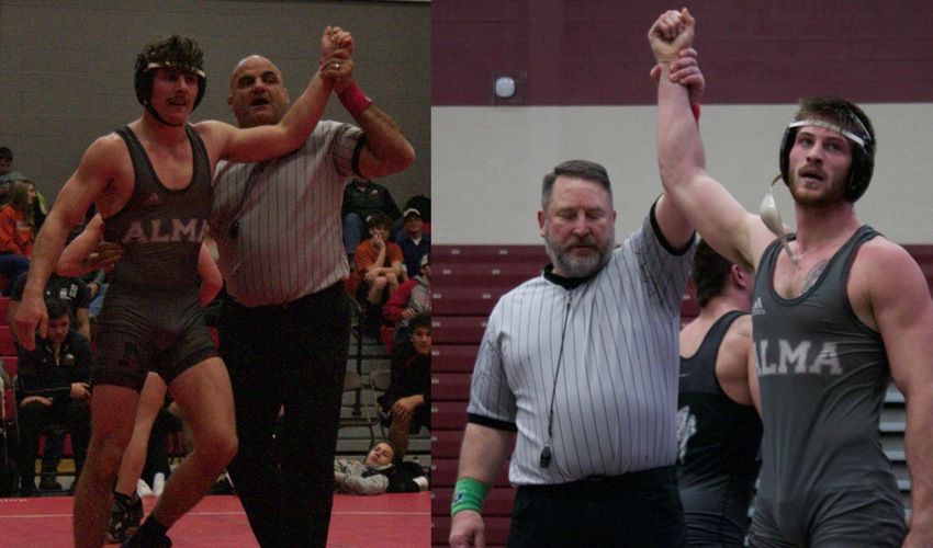 Ladd Named MIAA's Most Valuable Wrestler, Brewer to All-Conference